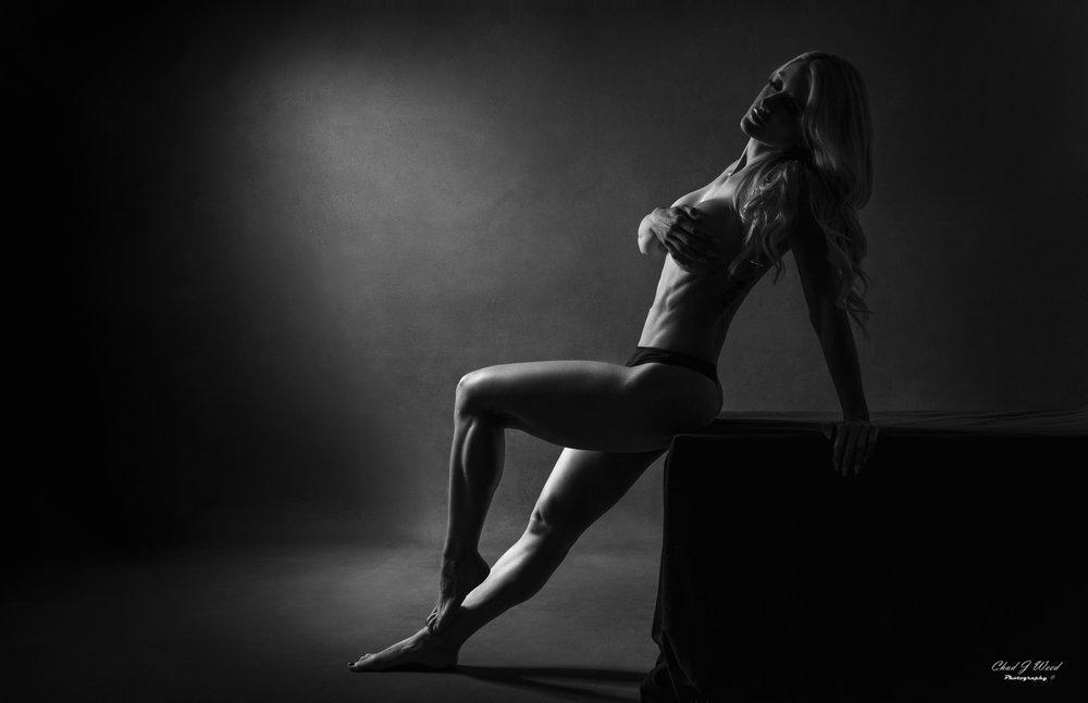 Mesa Arizona Fashion Photographer Chad Weed with Fitness Model Kristi - 3