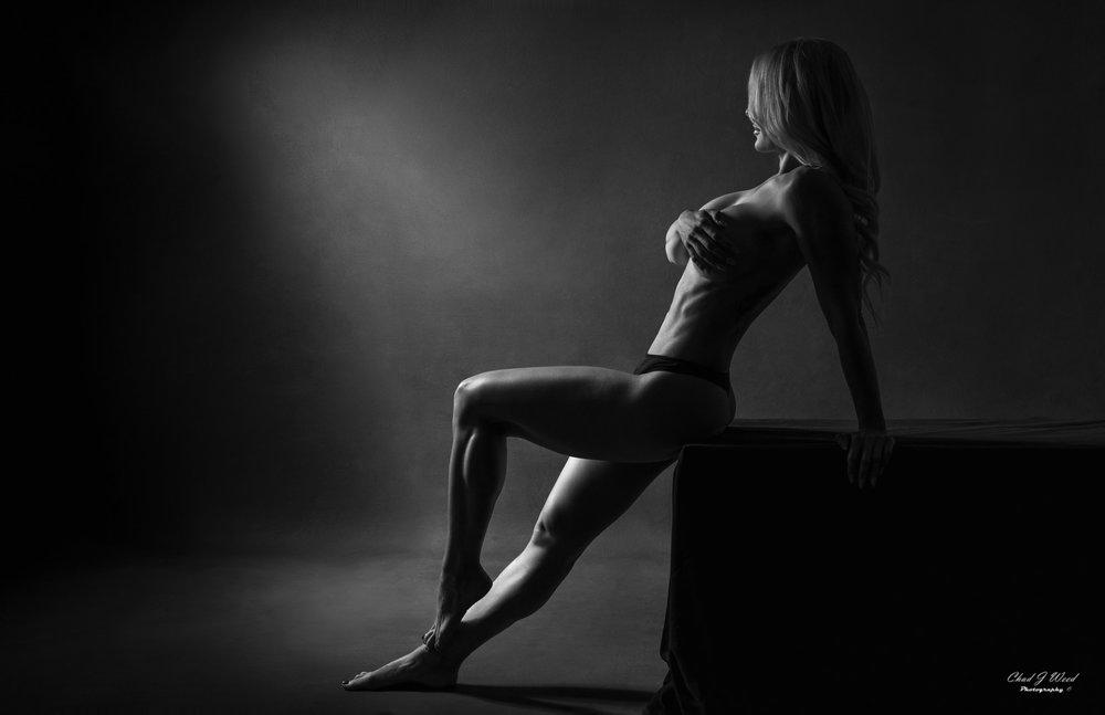 Mesa Arizona Fashion Photographer Chad Weed with Fitness Model Kristi - 5