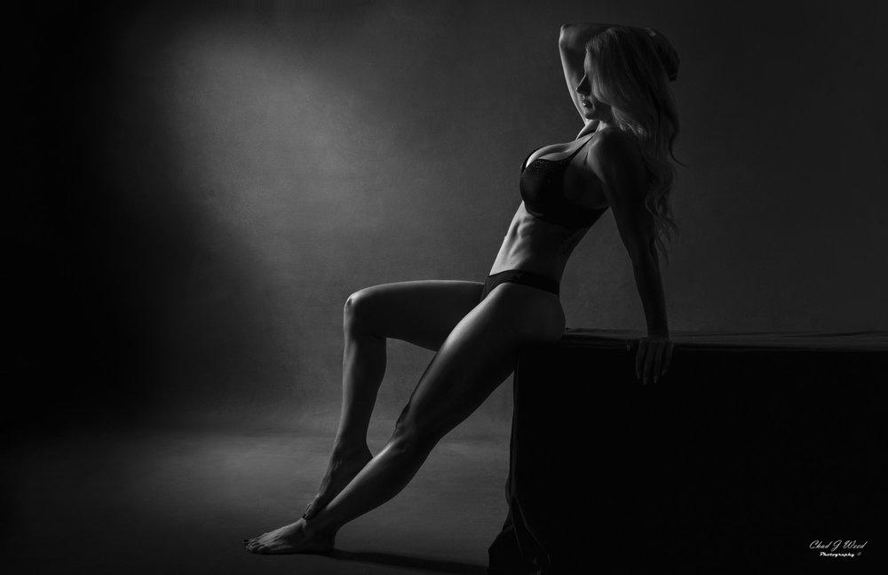 Mesa Arizona Fashion Photographer Chad Weed with Fitness Model Kristi - 4