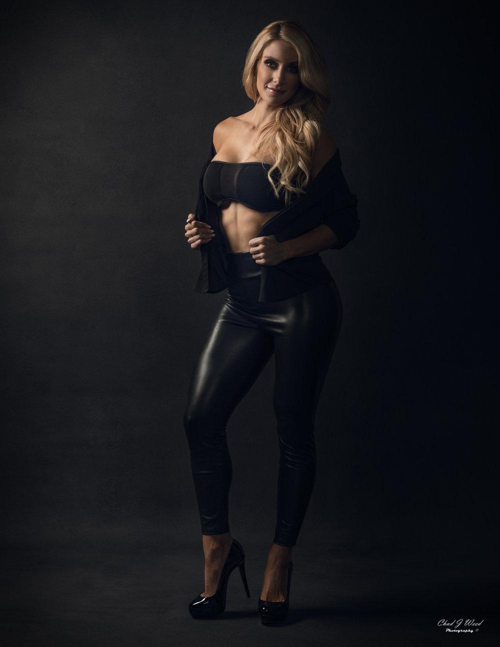 Mesa Arizona Fashion Photographer Chad Weed with Fashion Model Kristi - 1
