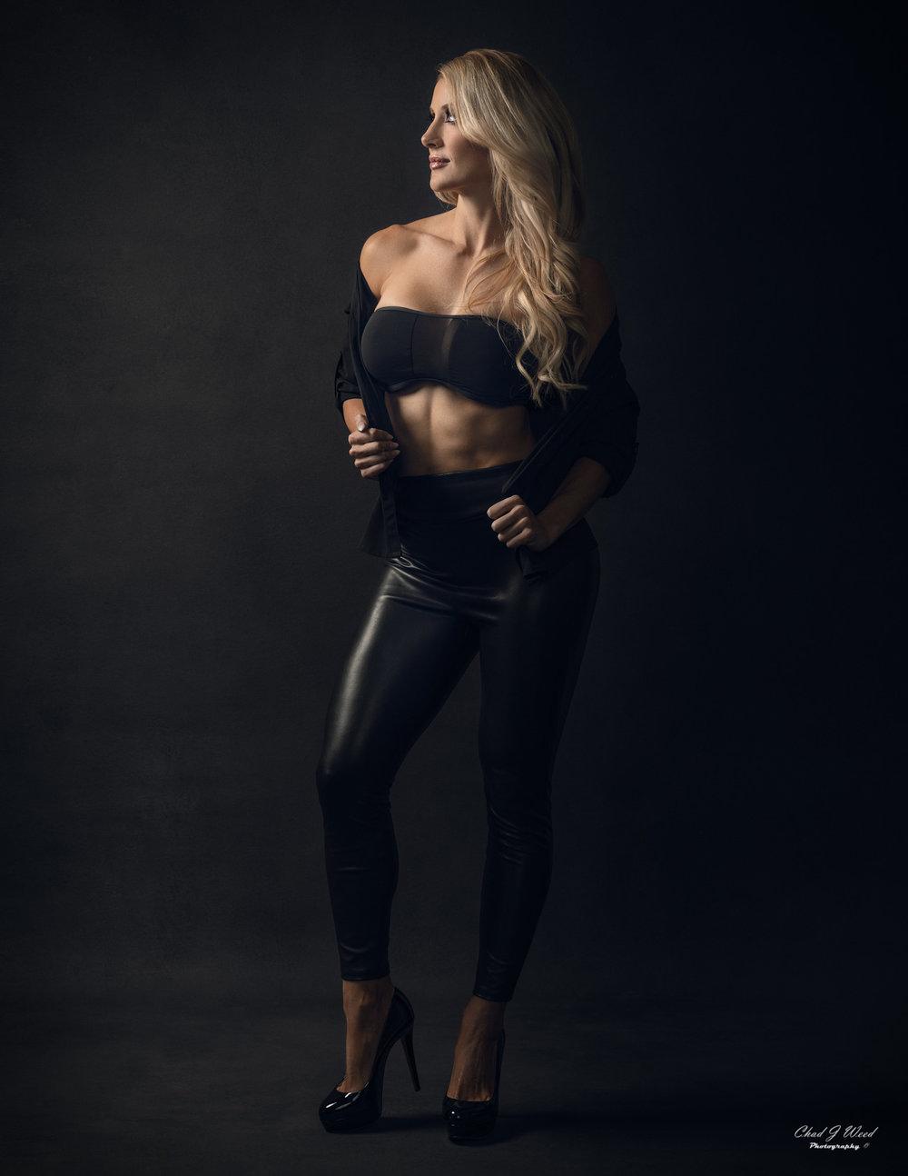 Mesa Arizona Fashion Photographer Chad Weed with Fashion Model Kristi - 2