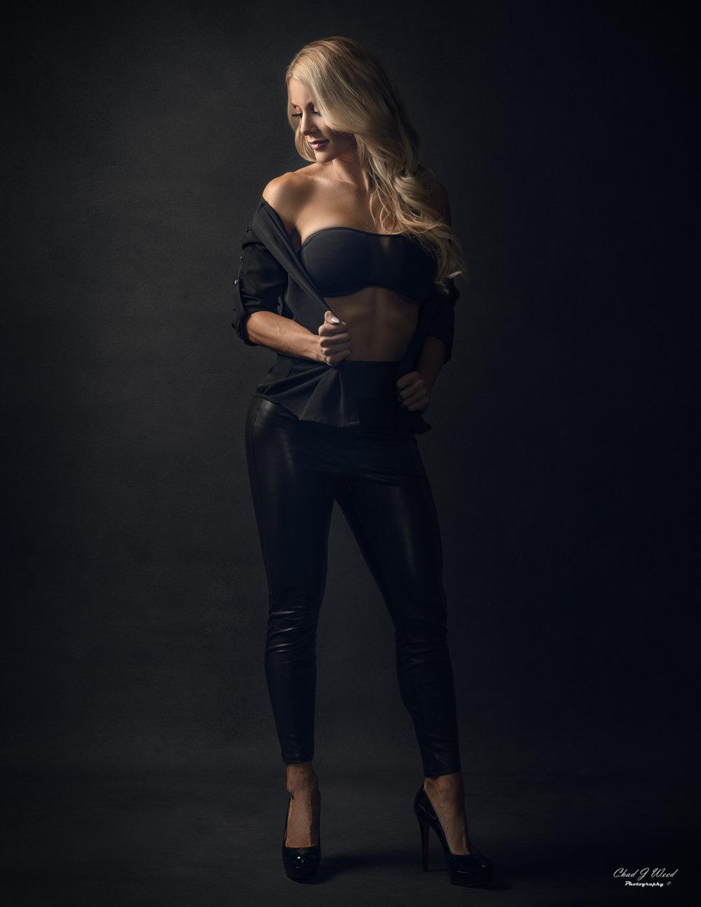 Mesa Arizona Fashion Photographer Chad Weed with Fashion Model Kristi - 3