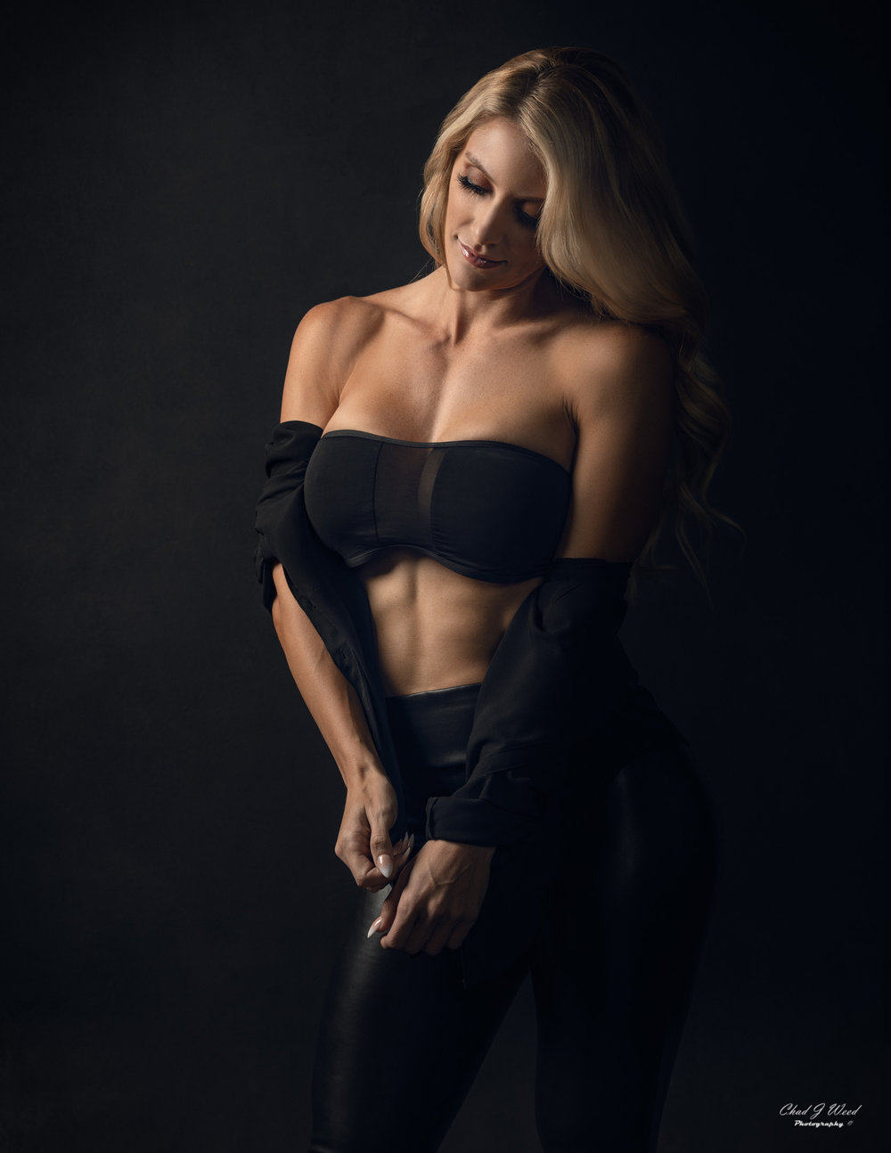 Mesa Arizona Fashion Photographer Chad Weed with Glamour Model Kristi