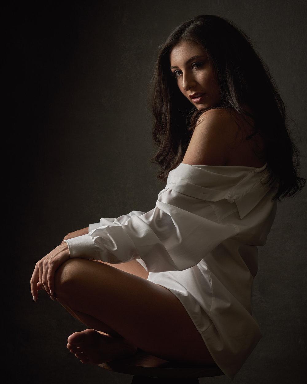 Arizona Fashion Portrait Photographer Chad Weed - Fashion Model Courtney