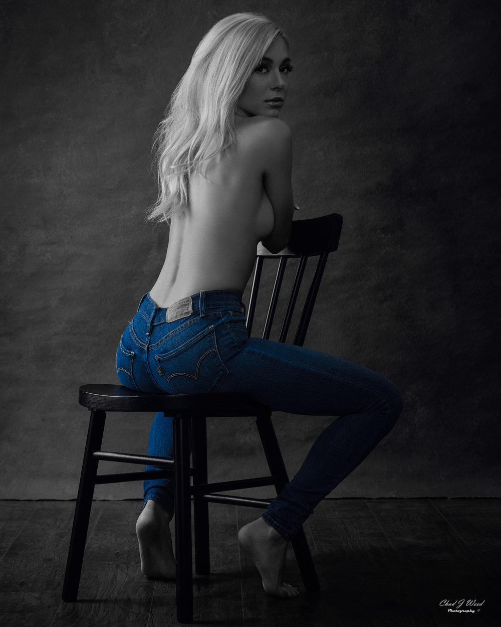Taylor Blue Jean Baby by Mesa Arizona Fashion Photographer Chad Weed