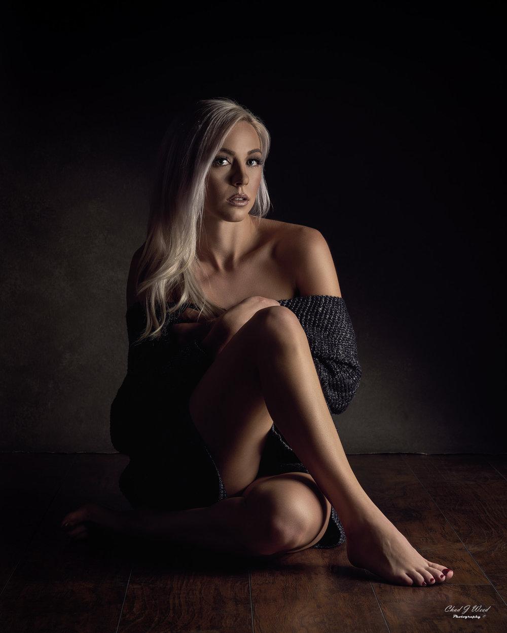 Mesa Arizona Fashion Portrait Photographer Chad Weed of Model Taylor