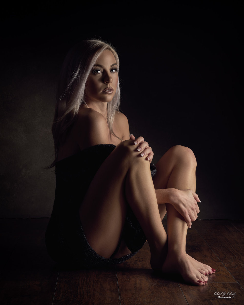 Mesa Arizona Glamour Photographer Chad Weed of Model Taylor