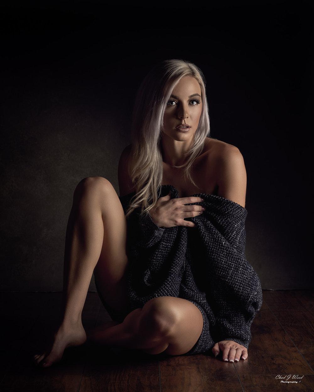 Mesa Arizona Portrait Photographer Chad Weed of Model Taylor