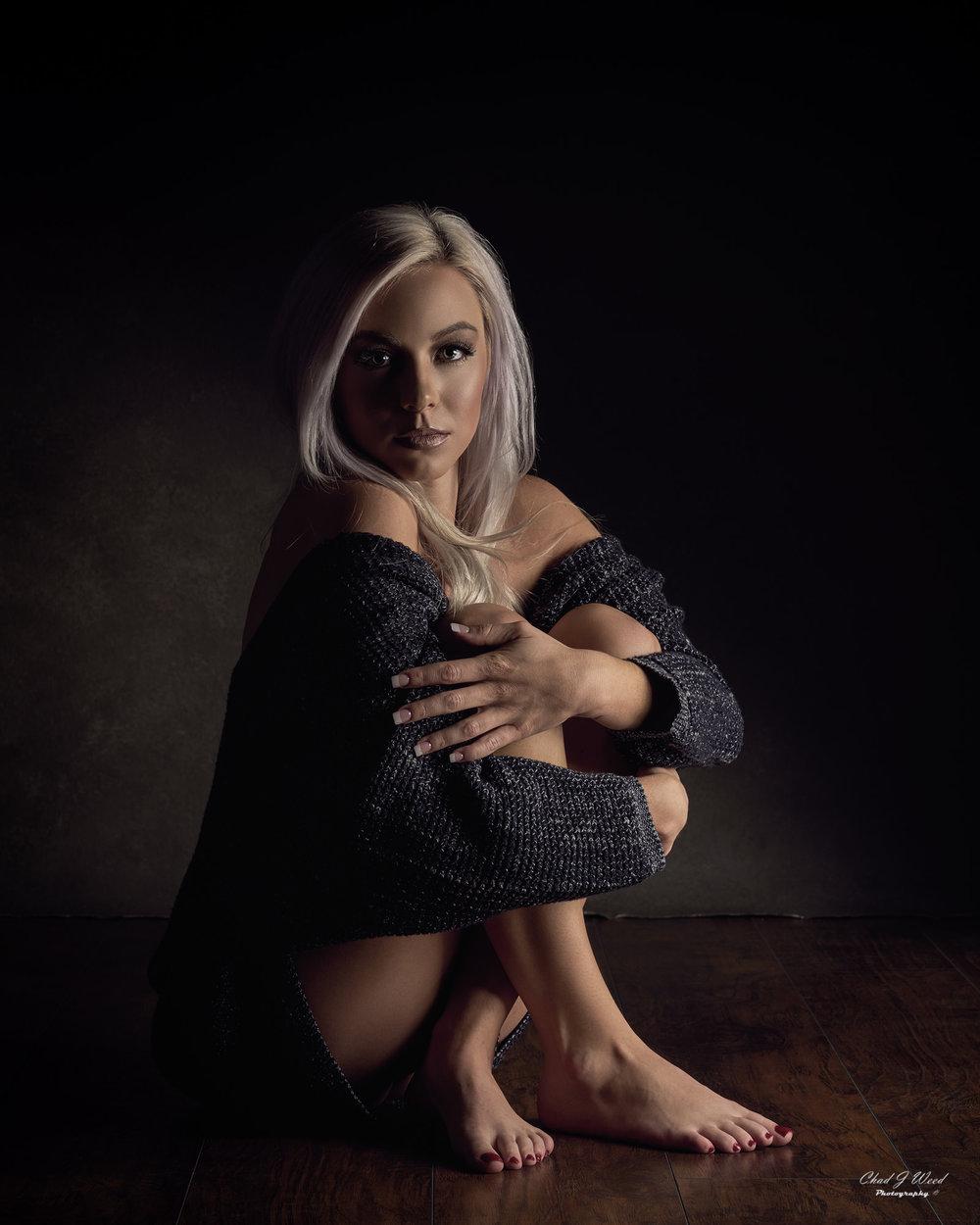 Mesa Arizona Beauty Photographer Chad Weed of Model Taylor
