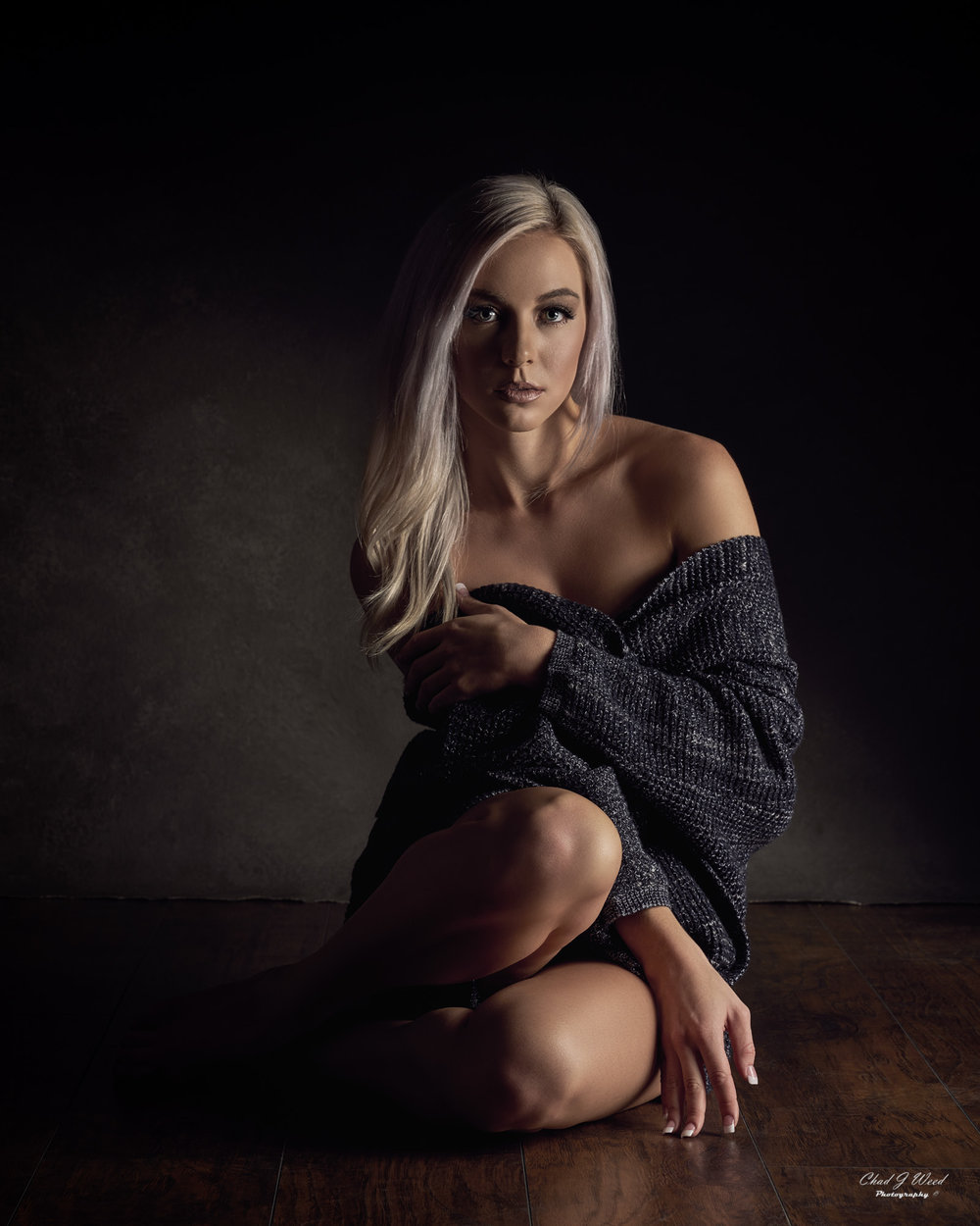 Arizona Fashion Portrait Photographer Chad Weed of Fashion Model Taylor