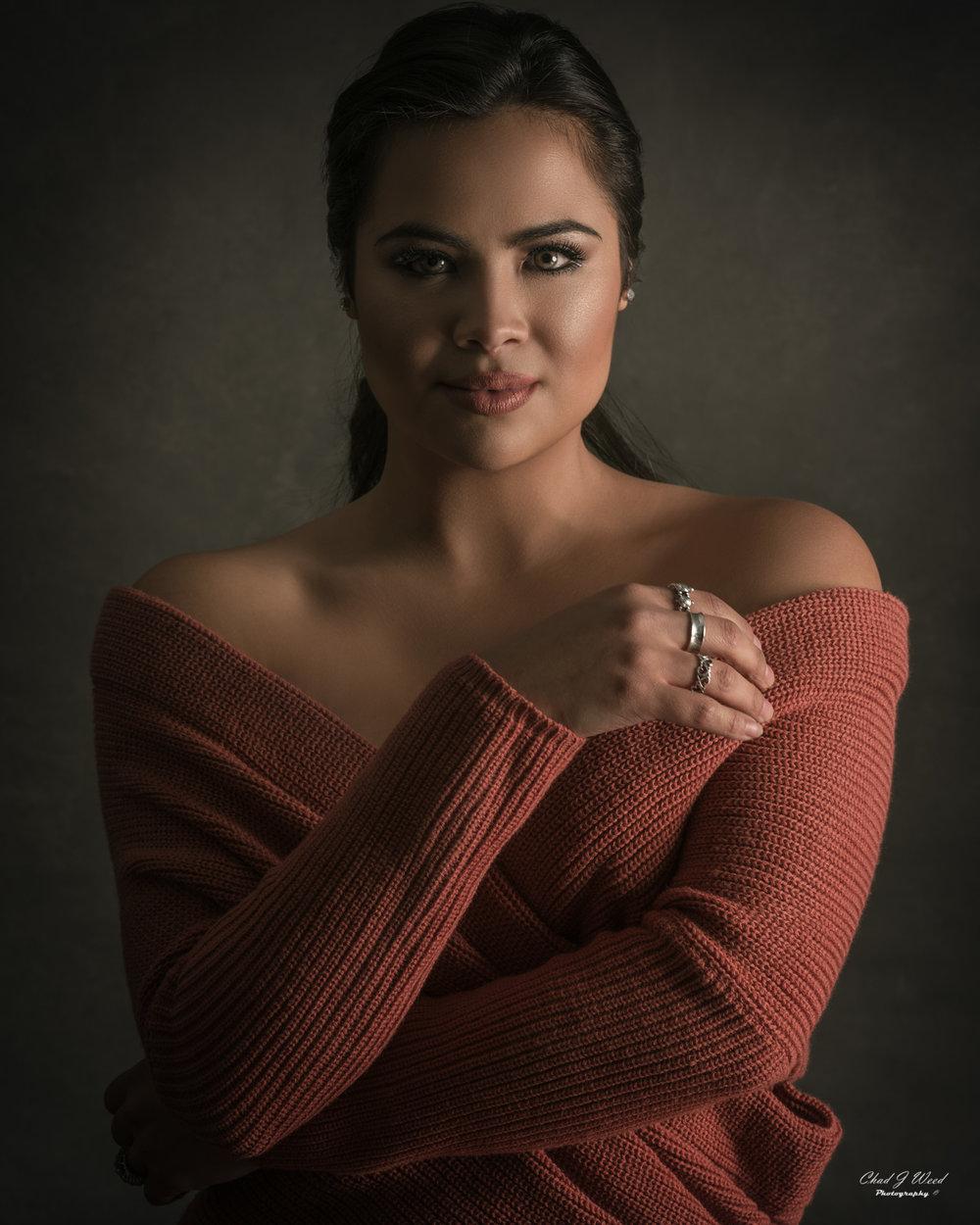 Mesa Arizona Headshot Photographer Chad Weed of Beauty Model Karla