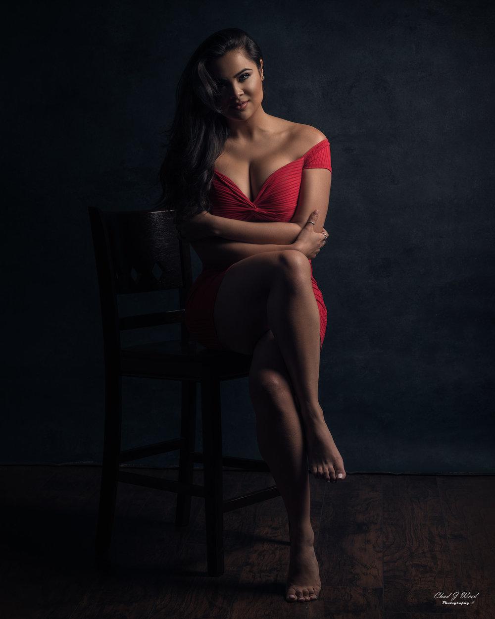 Mesa Arizona Fashion Photographer Chad Weed of Fashion Model Karla