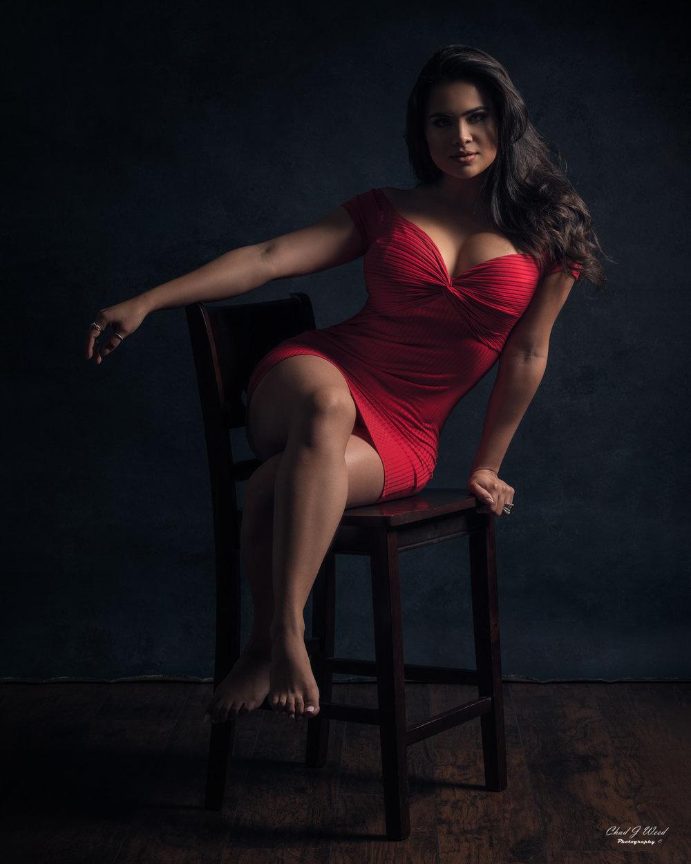 Mesa Arizona Fashion Photographer Chad Weed of Model Karla