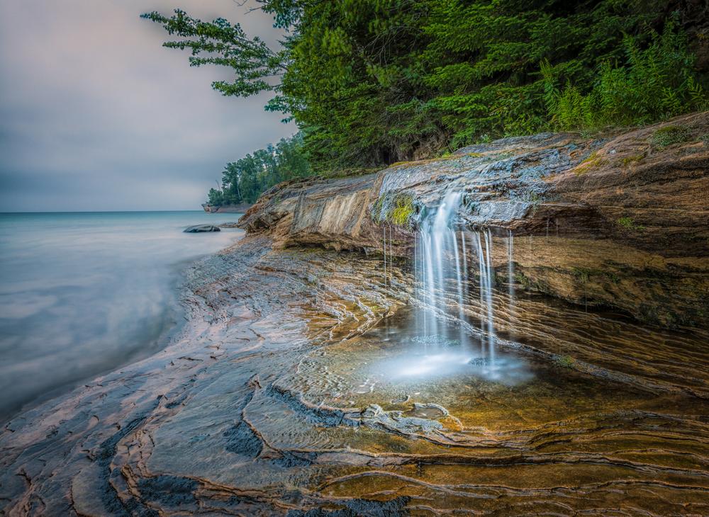 Miner's Beach Falls
