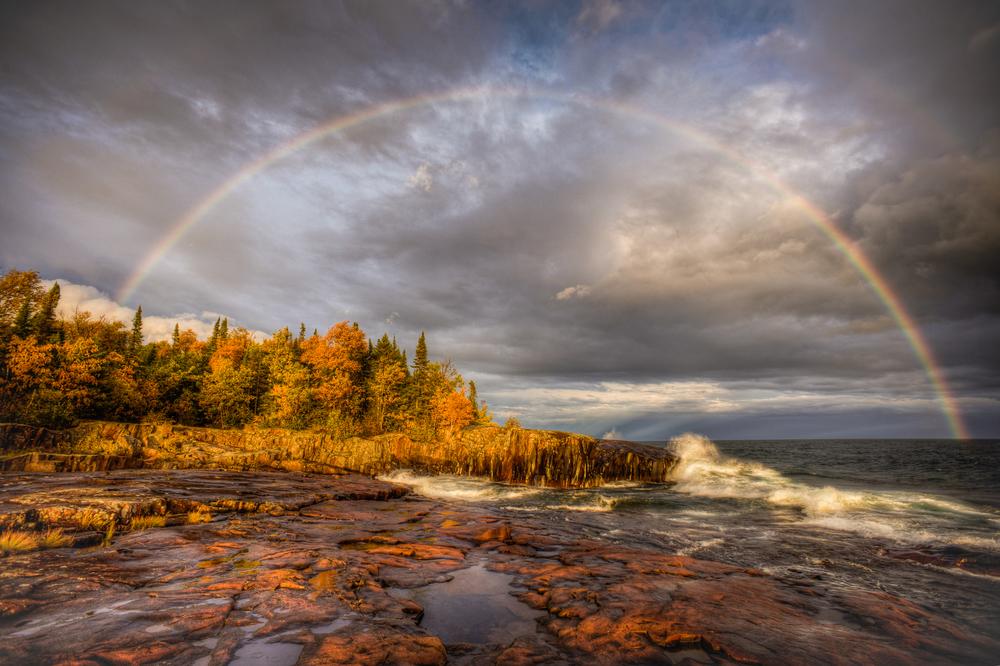 Rainbow at Artist Point