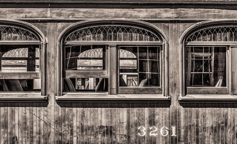 Railroad Car Window
