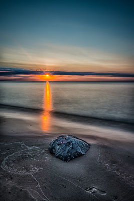 Rock and Sunset