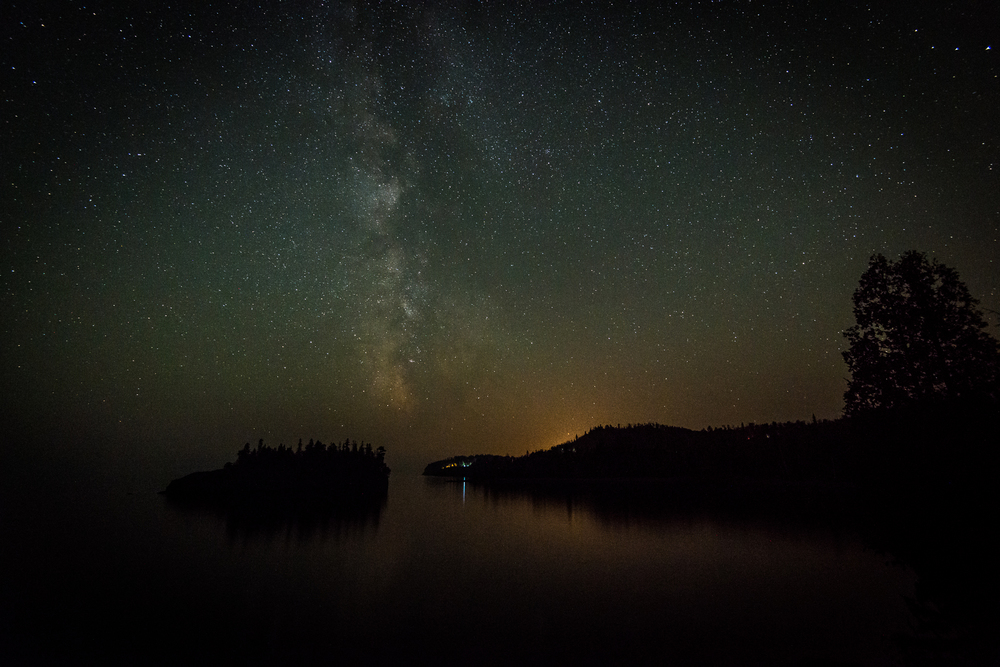 Milky Way at Split Rock Bay