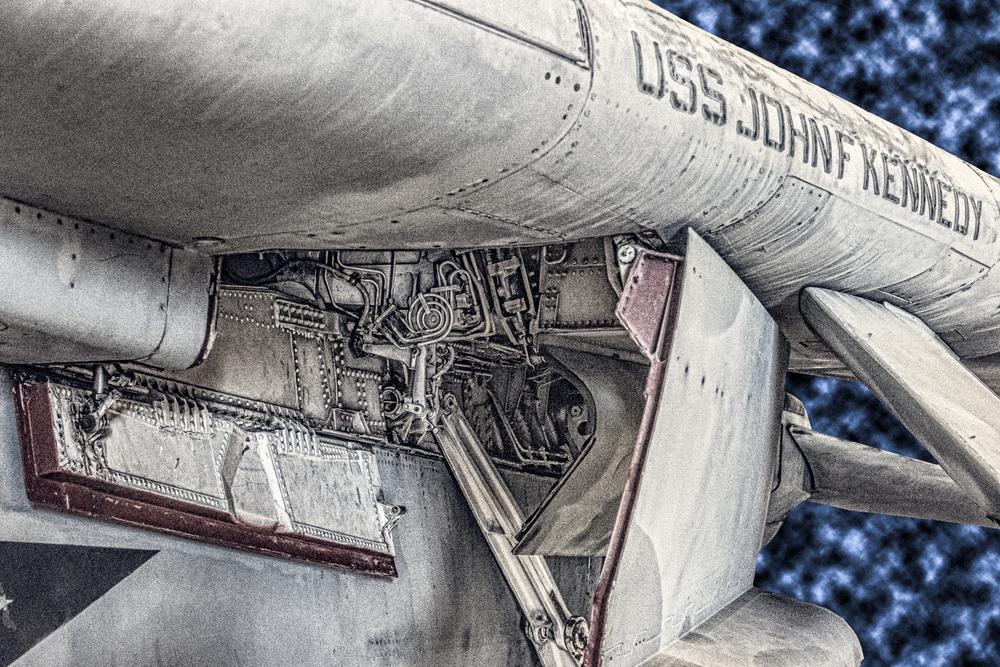 USS JFK Landing Gear