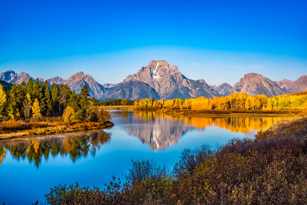 Oxbow Bend at the Tetons