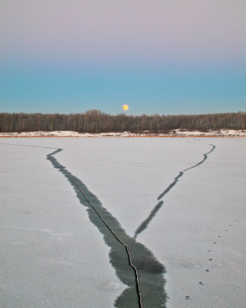 Moonrise, Elk Island National Park, 2004