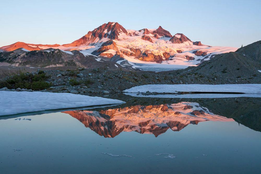 Reflected Peaks, Garibaldi Provincial Park, 2012