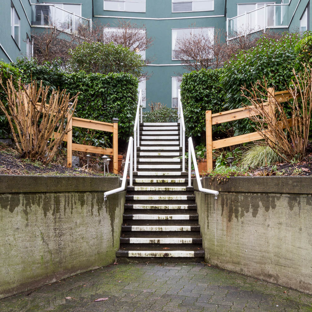 Stairs, South False Creek, Vancouver, 2015