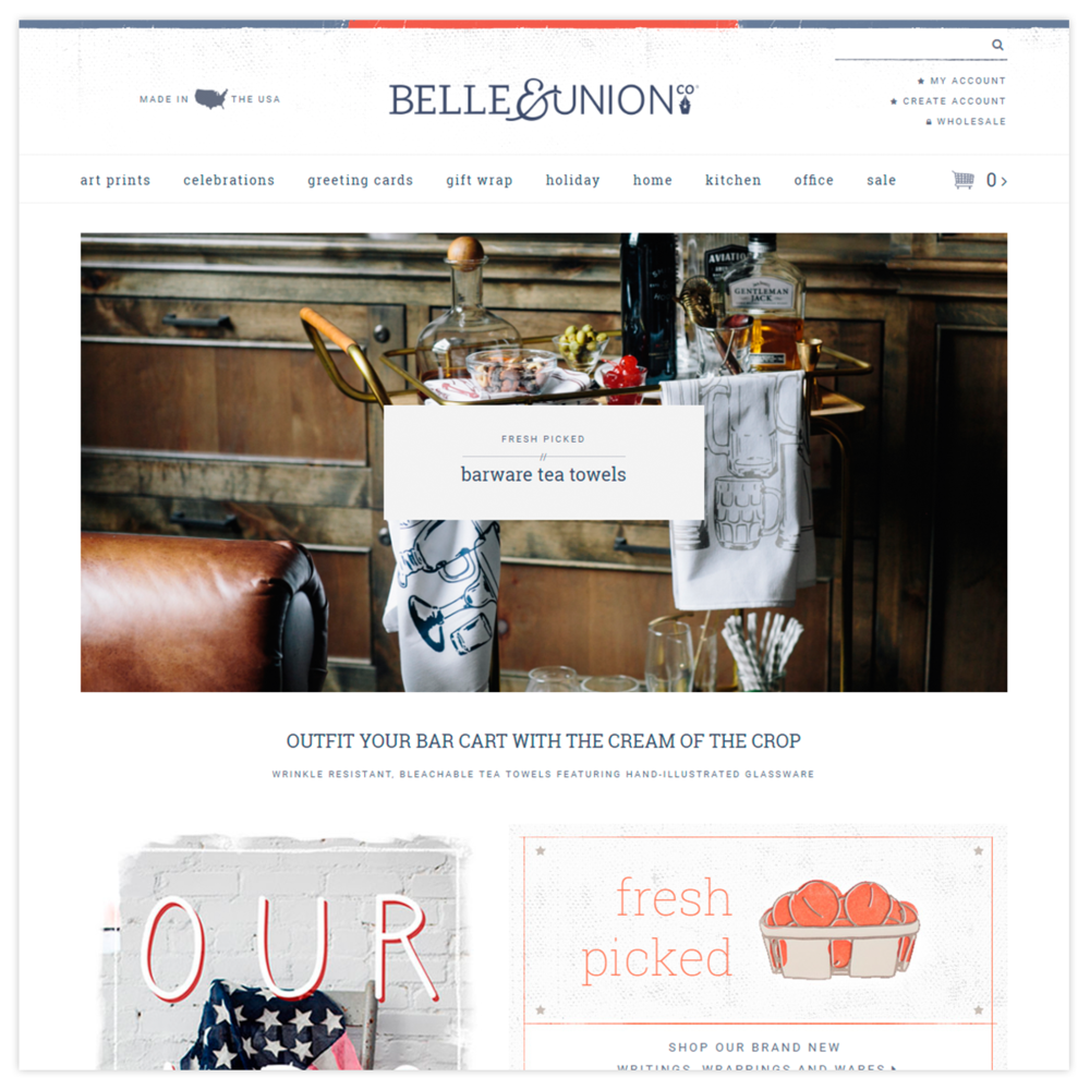 Belle & Union Co |  Visit the Site