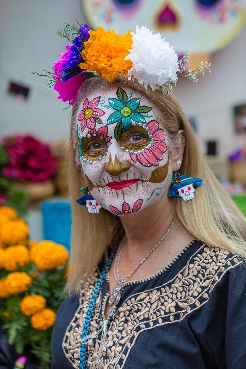 Ready for Dia de Los Muertos!