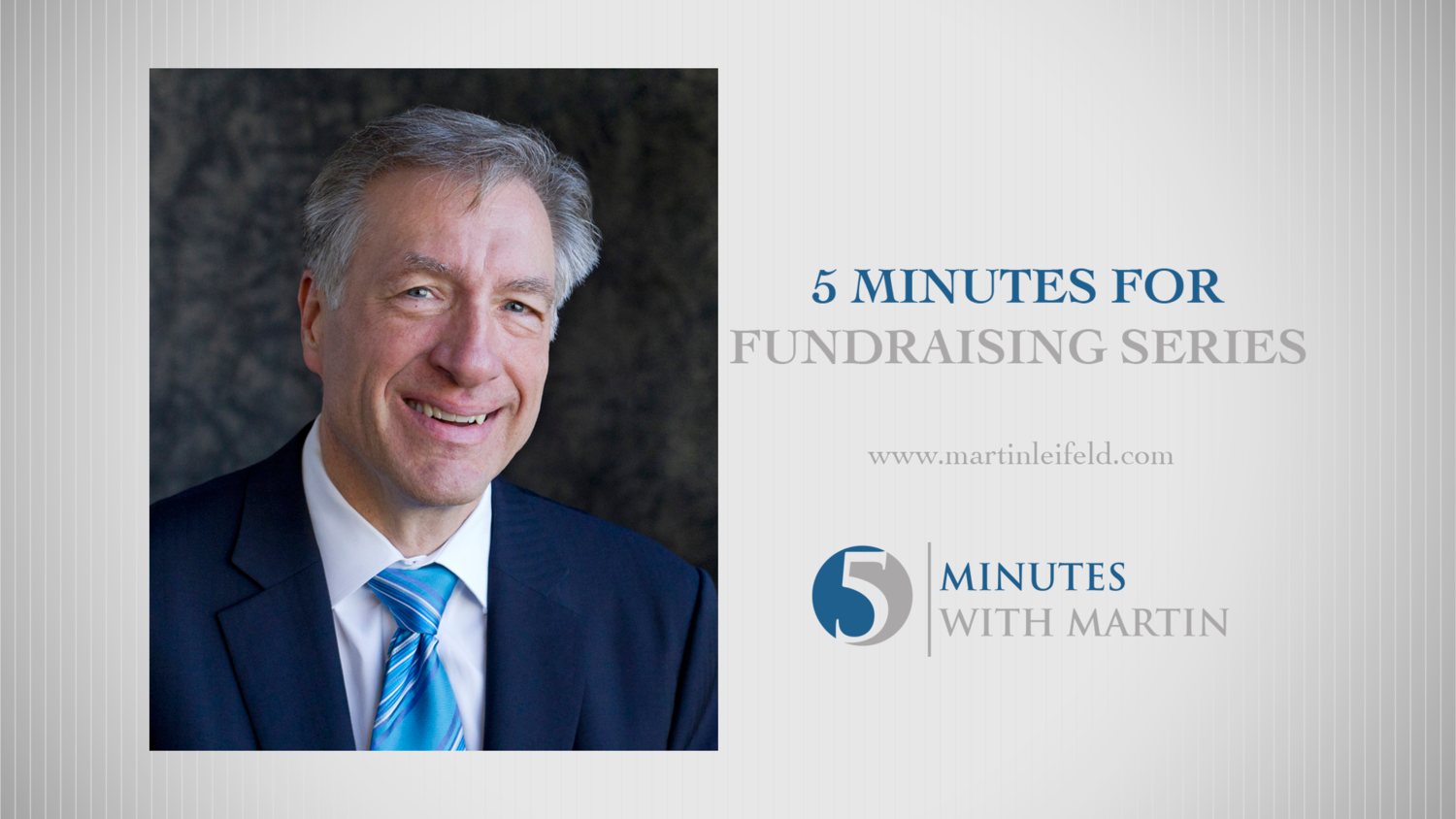 Five Minutes for Fundraising Podcast - Martin Leifeld