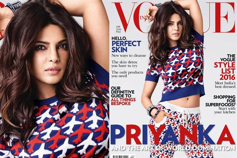 """Be Whoever You Want"" - - Priyanka Chopra"