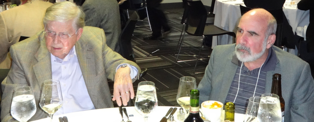 Lou Judd and Larry Siever at May 2014 NASSPD Annual Dinner