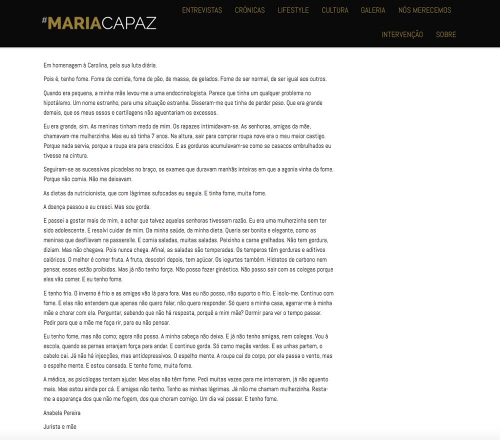 #mariacapaz