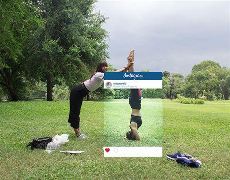 Estas fotos são prova de que mentimos (muito) no Instagram (Dinheiro Vivo)