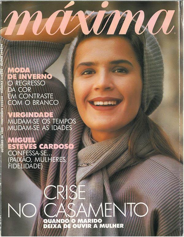 Primeiro número da revista Máxima (1988)