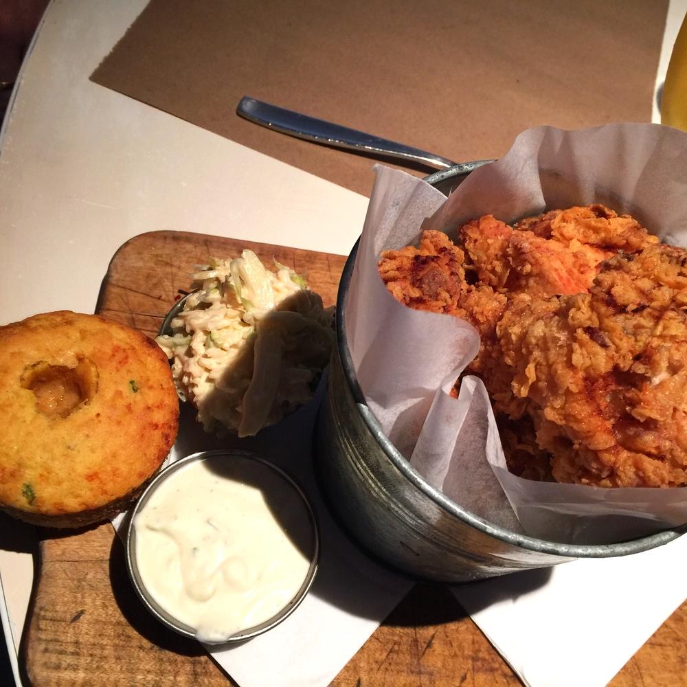 Buttermilk Fried Chicken coleslaw, cornbread, house-made ranch