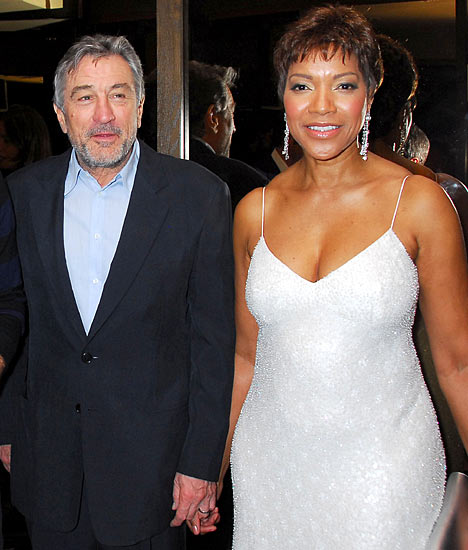 Grace Hightower & Robert DeNiro.