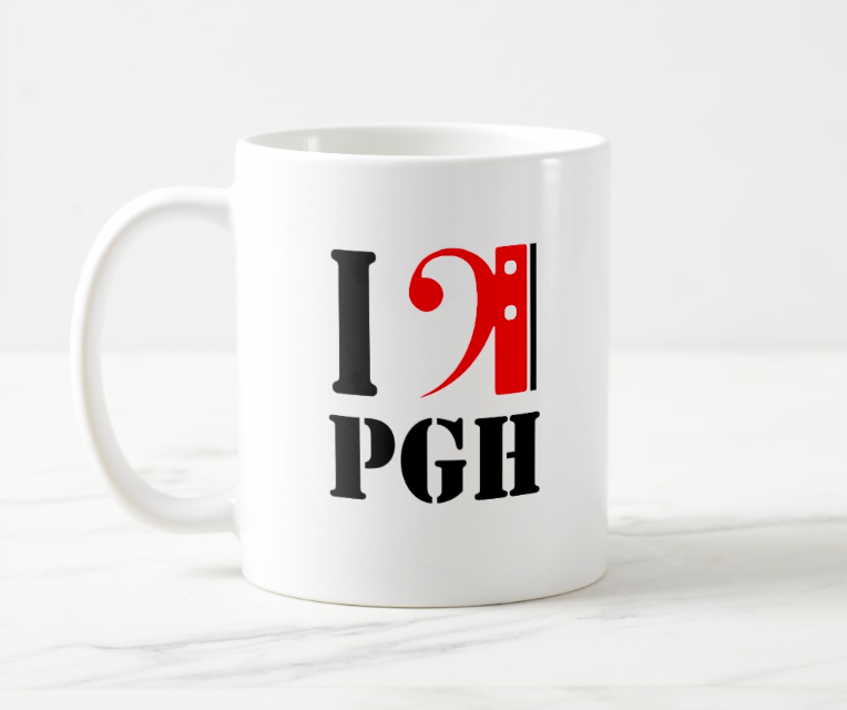 Three different mug designs for donors of $15+ per month (or one-time gifts of $150+)