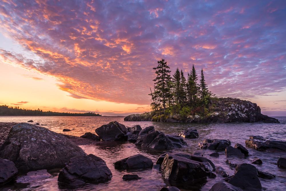 Lake Superior Island