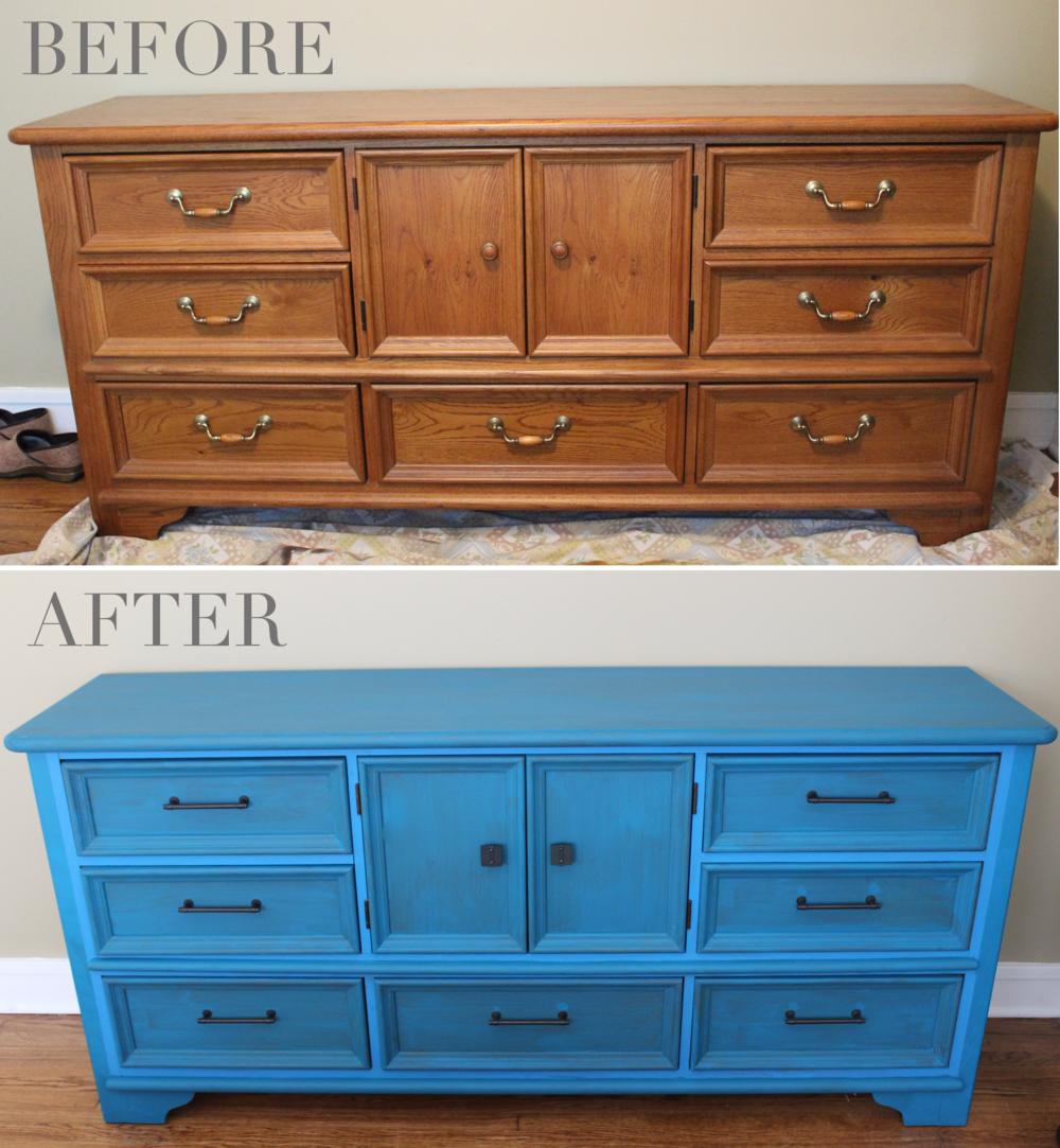 DIY {Chalk Paint Dresser Revival}
