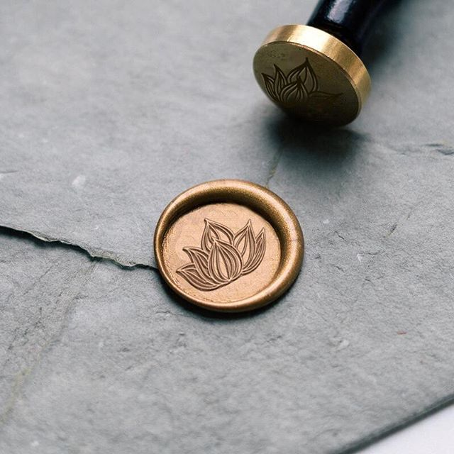 A custom engraved stamp for wax sealing is up there in my favorite pieces of collateral to suggest to clients. Instant class and clout, am I right? A big part of the value you're receiving when you work with a designer— on your branding, on your wedding, etc.— is that designer's relationships with vendors. It takes time and sweat to track down all the makers and printers who will create your beautiful custom materials, makers who are ideally professional, timely, cost effective and ethical in their business practices. And that's time and sweat that you can save for working on what you love to do. Here's a freebie for you: If you're looking for a custom engraver of wax seal stamps, @stamptitude is where it's at.