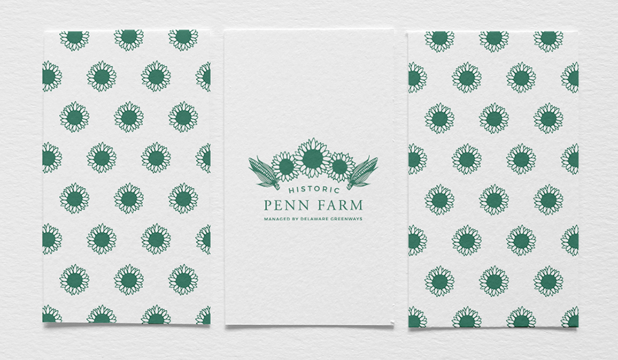 Historic Penn Farm Business Card Logo