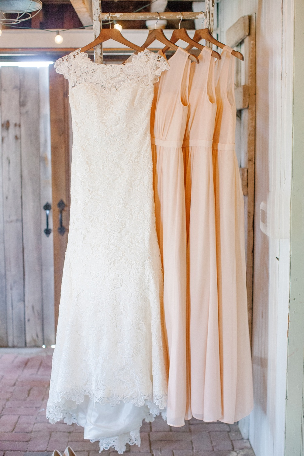 Jenny Yoo bridesmaid dresses for Terrain at Styers wedding