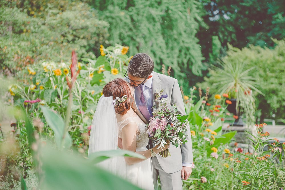 Greenhouse wedding at the Philadelphia Horticultural Center | Wedding planning by Heart & Dash