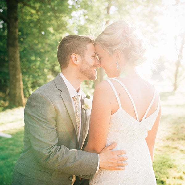 Lori & Paul's Rustic PHILLY BARN WEDDING
