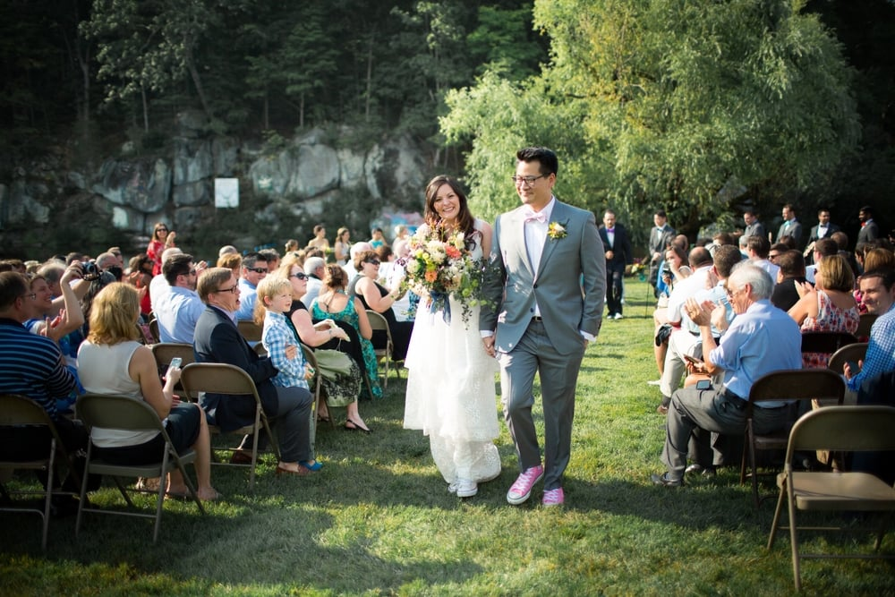 Wedding at Camp Green Lane in Pennsylvania :: Heart & Dash :: Jessica Osber Photography