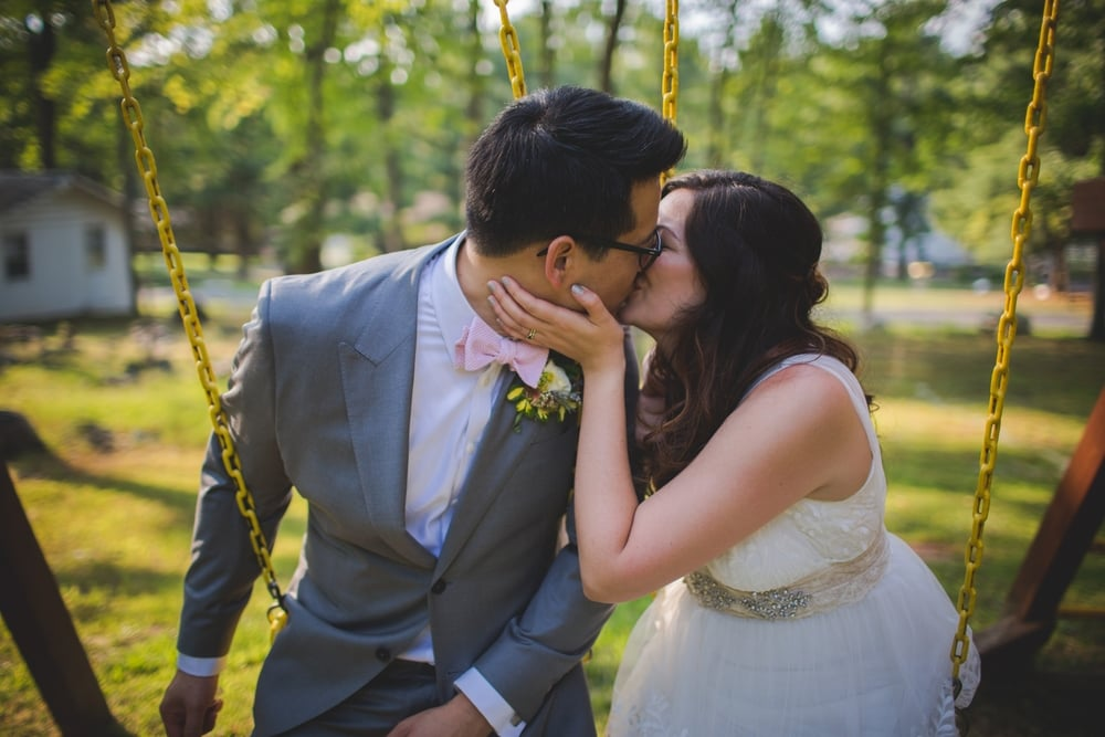 Weekend Wedding at Camp Green Lane in Pennsylvania :: Heart & Dash :: Jessica Osber Photography
