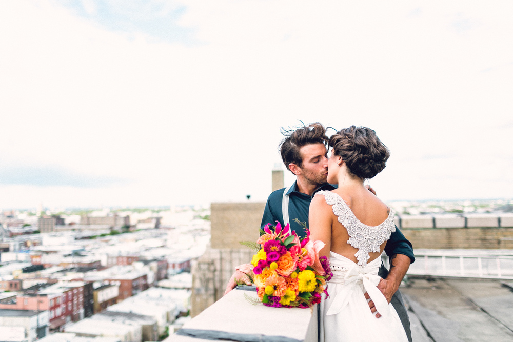 Philadelphia Rooftop Wedding :: Heart & Dash :: Danfredo Photo + Film