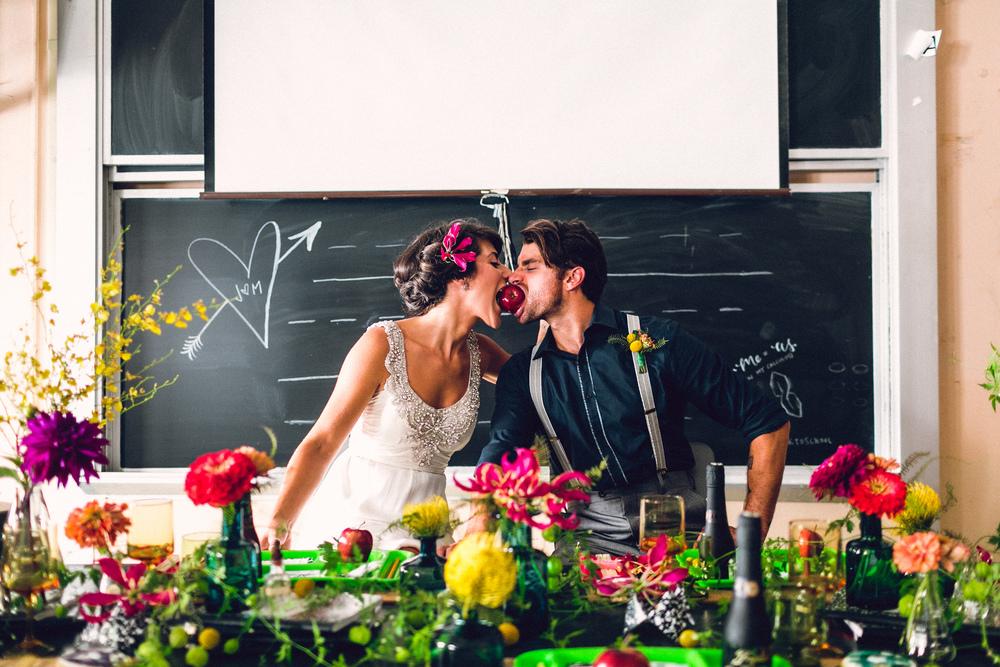 Back to School Themed Wedding Inspiration in Philadelphia :: Danfredo Photos + Films and Heart & Dash