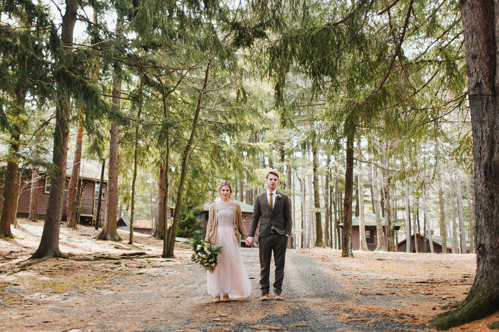 Camp wedding at Cedar Lakes Estate with Heart & Dash and The More We See